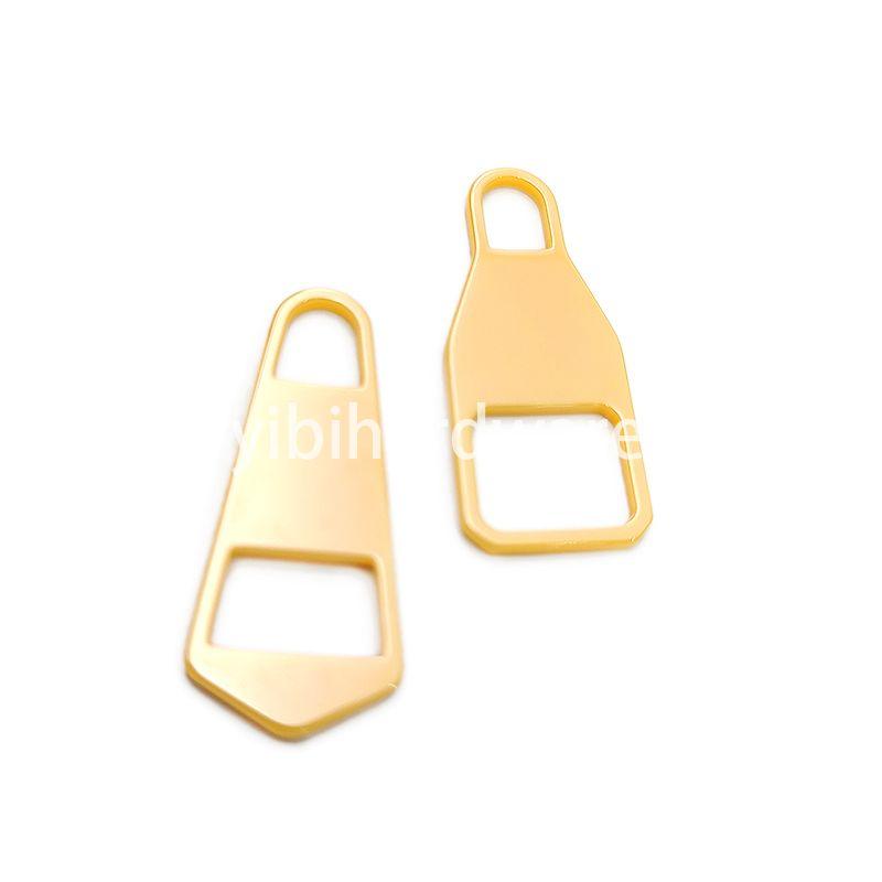 Yellow ceramic zipper puller