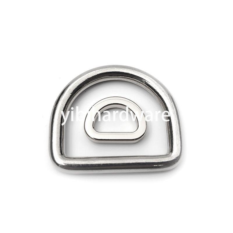 zinc alloy D ring