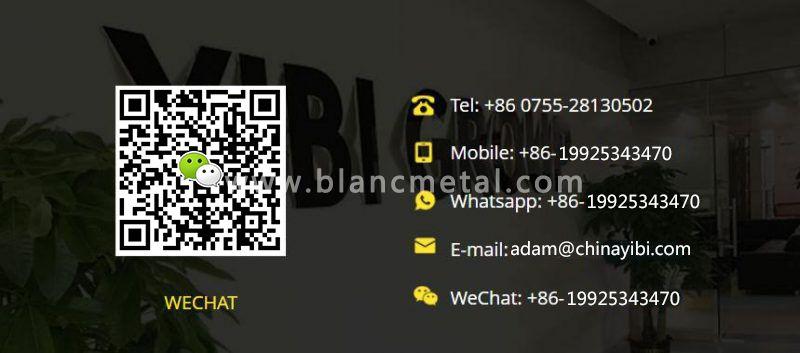 Yibi OEM/ODM Customized Zirconia CeramicBag Hardware Dod Clip
