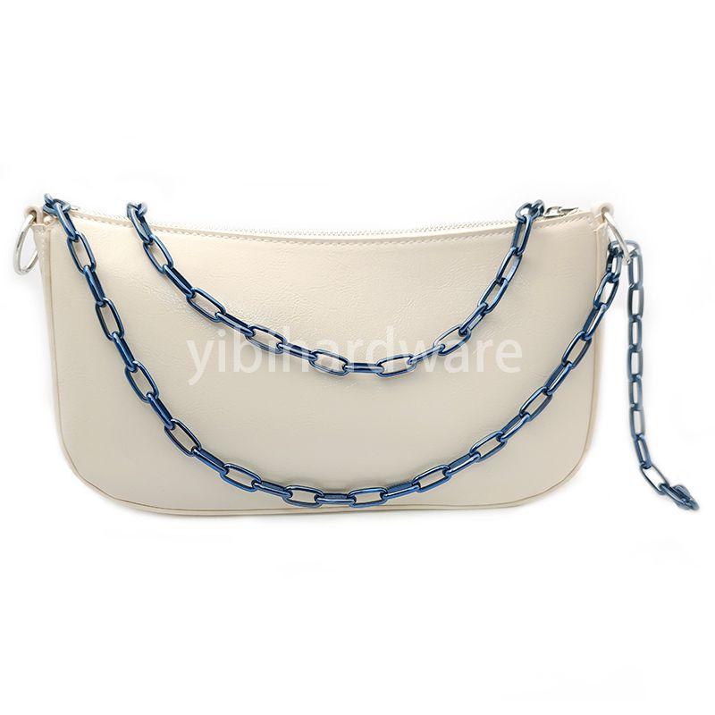 zirconia ceramic  blue chain