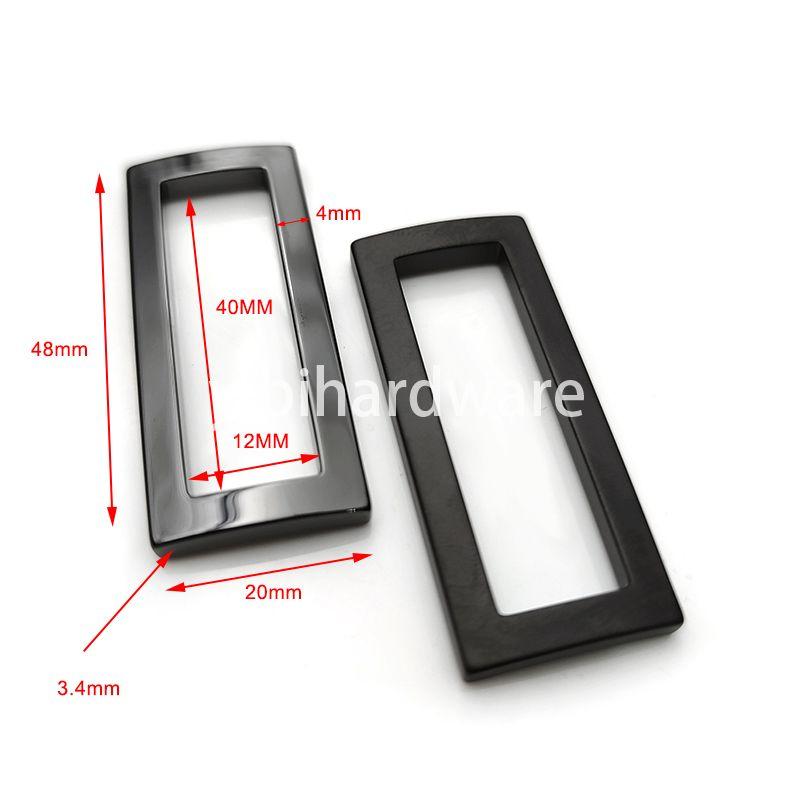 Ceramic rectangular ring