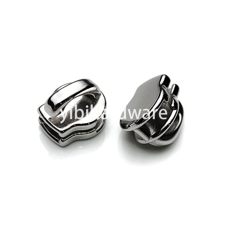 Stainless steel zipper slider