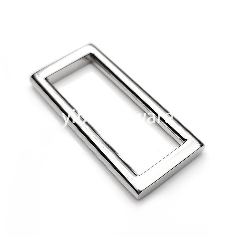 Stainless steel rectangular ring