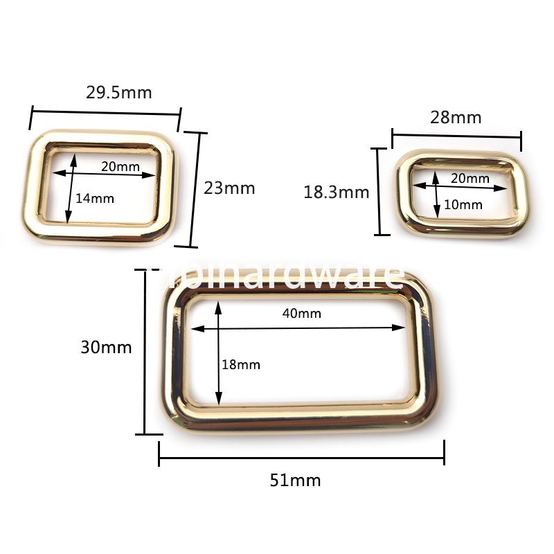 zinc alloy rectangular ring-2