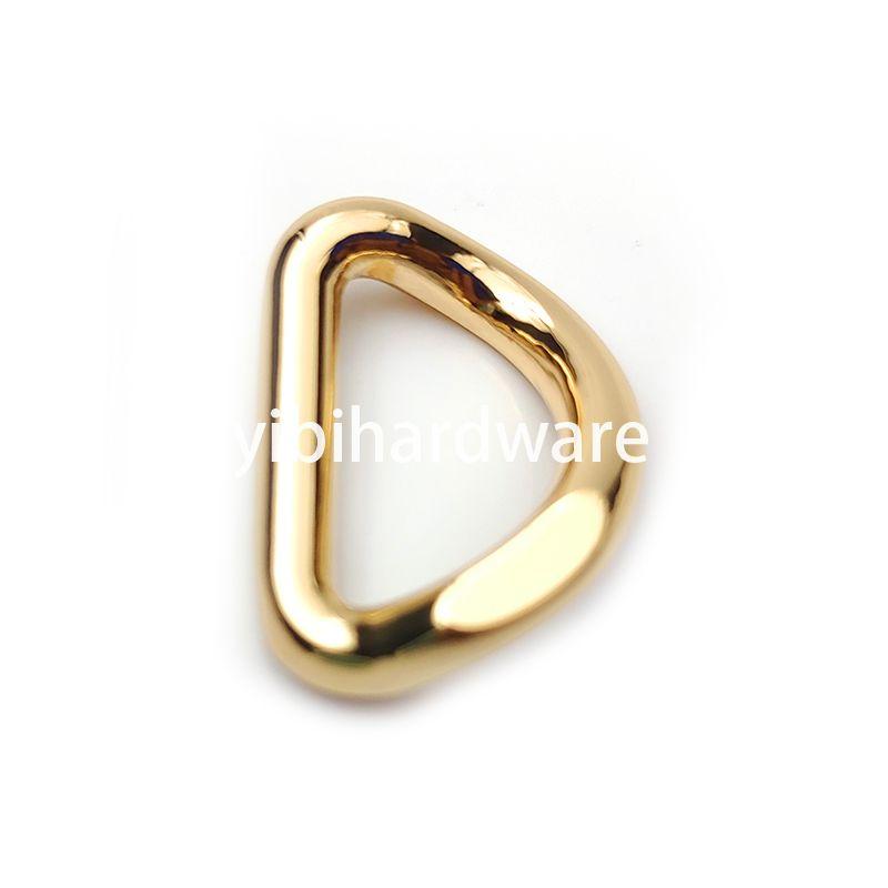 zinc alloy golden  D ring